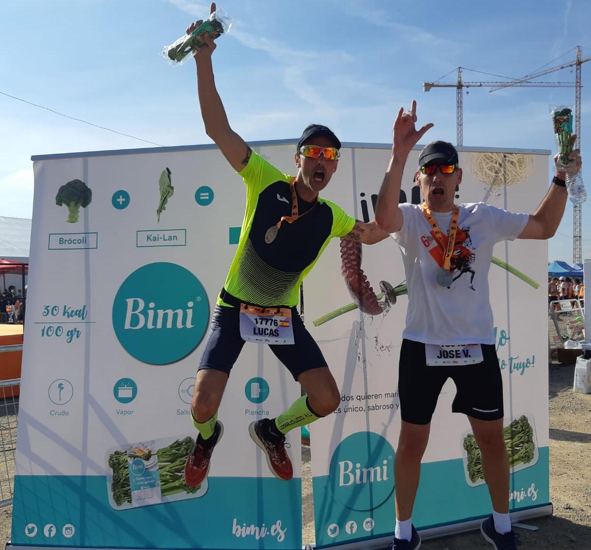 Bimi, producto oficial del Maratón de Valencia