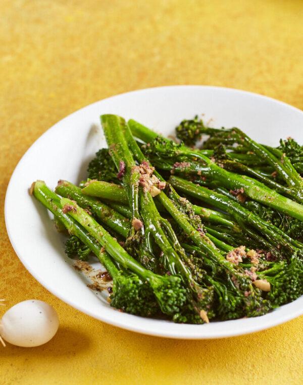 Dampet Bimi® brokkoli med olivensmør
