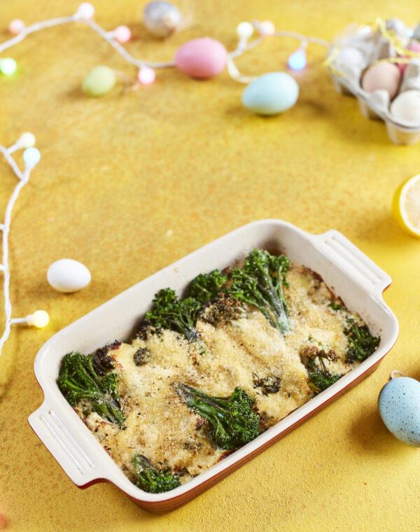 Bimi® broccoli gratin