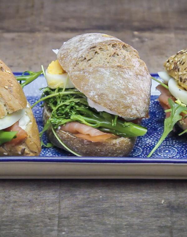 Video receta - Bocadillo saludable en pan de semilla con Bimi®