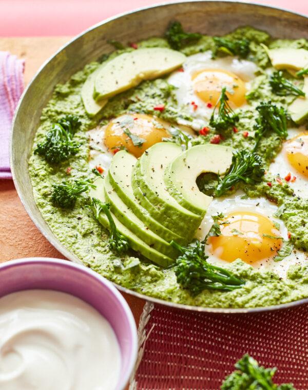 Mexicansk morgenmad med Bimi® broccoli og æg