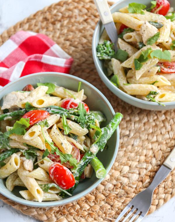 Romige pasta met Bimi® broccoli