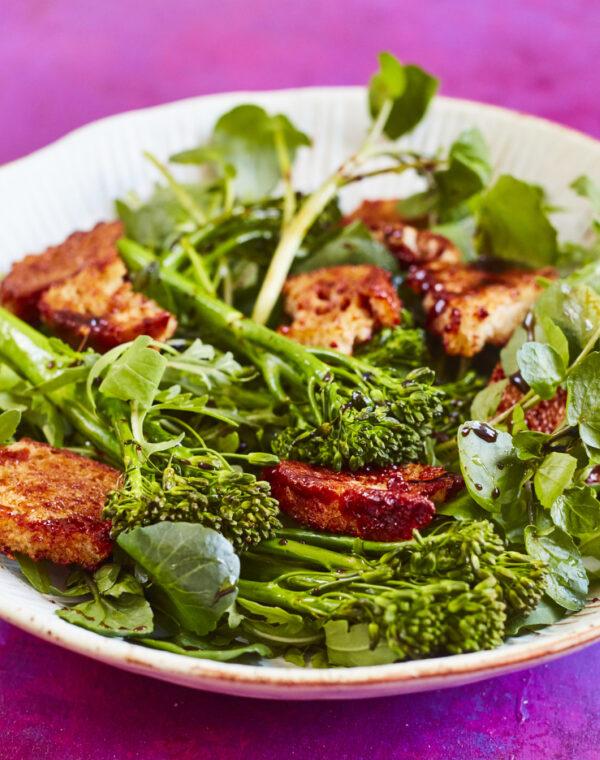 Marmite toast og Bimi® broccoli