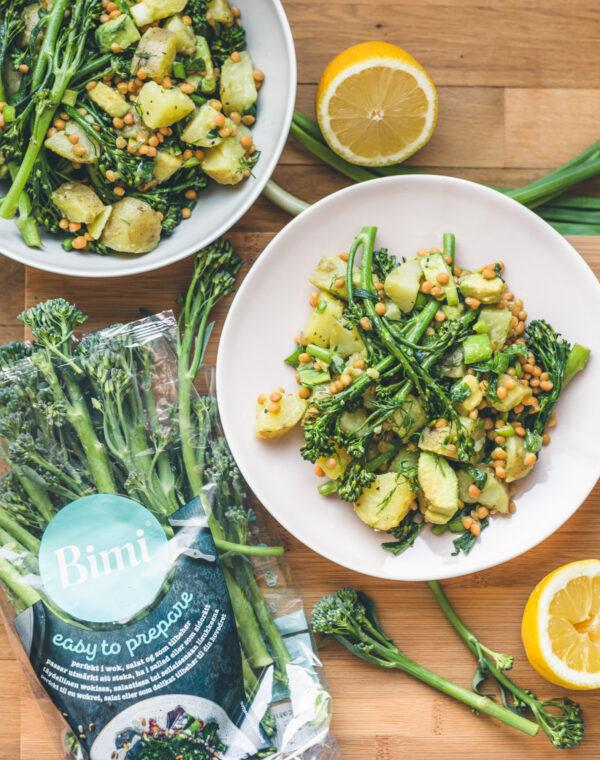 Perunasalaatti Bimi®-parsakaalilla