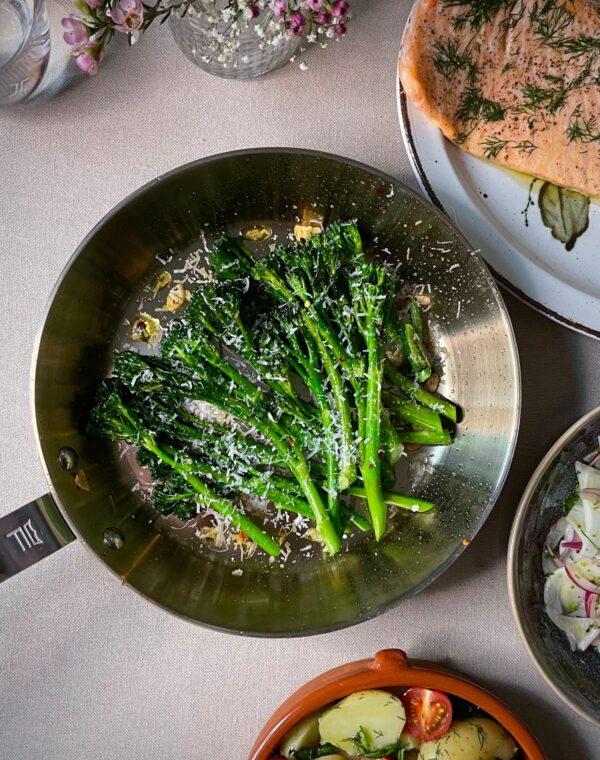 Bimi® brokkoli med hvitløk og chili