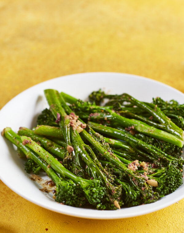 Steamed TS with olive butter