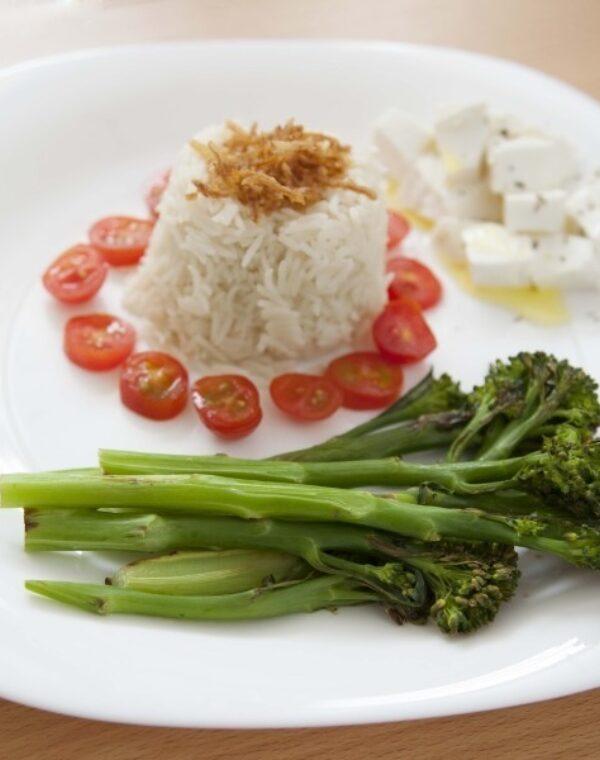 Arroz basmati com Bimi® brócolos