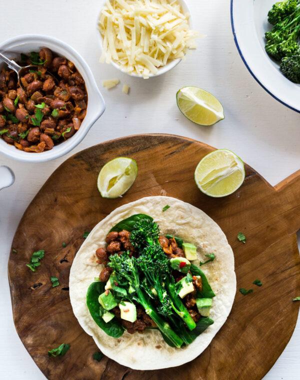 Burritos du matin au Bimi® brocoli