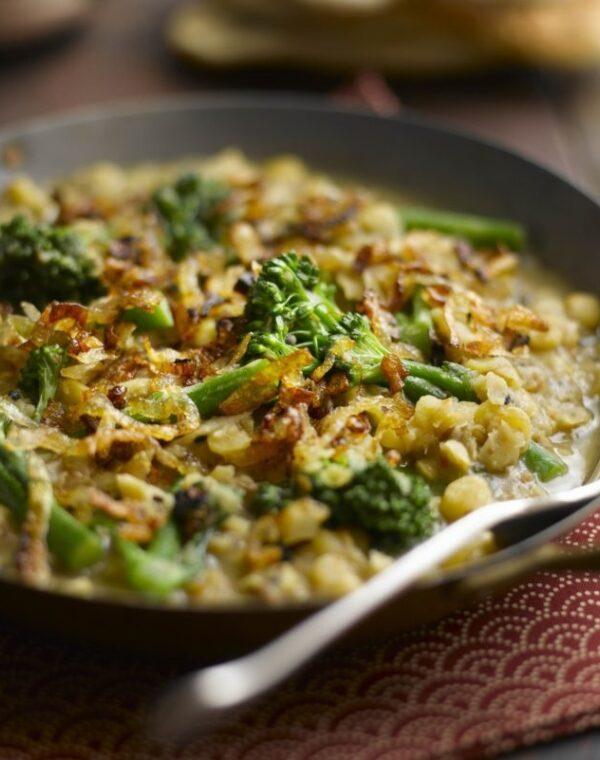 Bimi® brócoli con garbanzos y curry