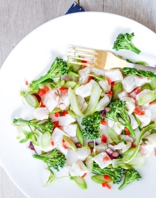 Ceviche con Bimi® Brócoli
