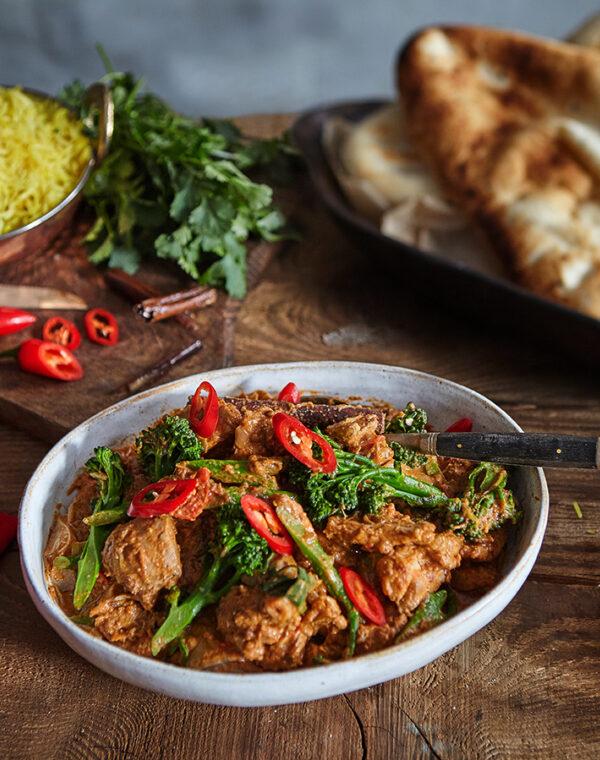 Chicken Rogan Josh Curry with Bimi® Broccoli