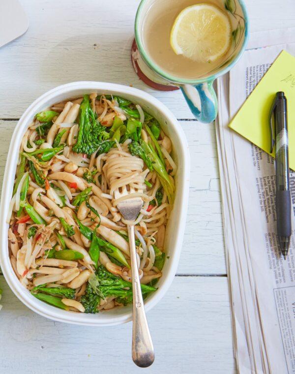 Bimi®brócolos com Ramen Noodles