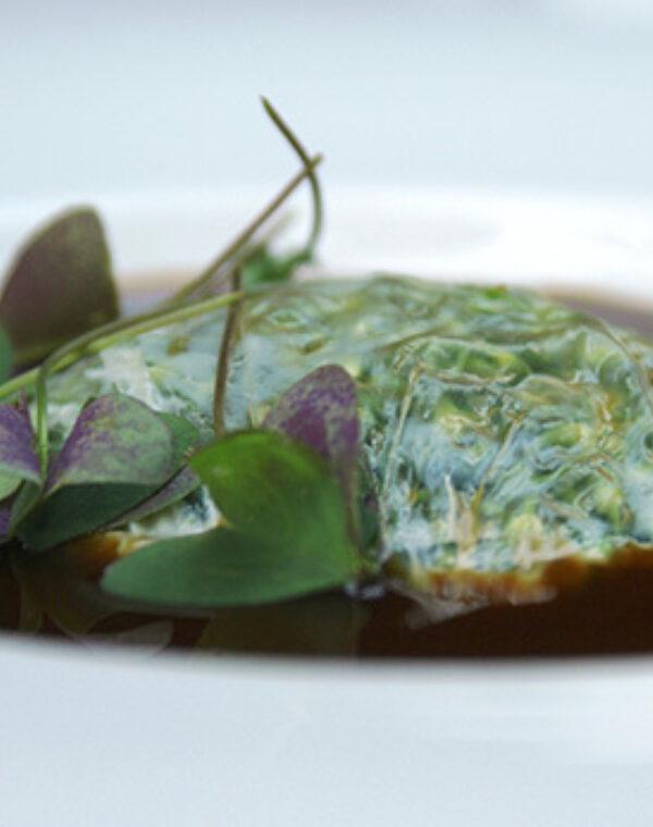 Ravioli de Bimi® brócoli y Piel de Leche
