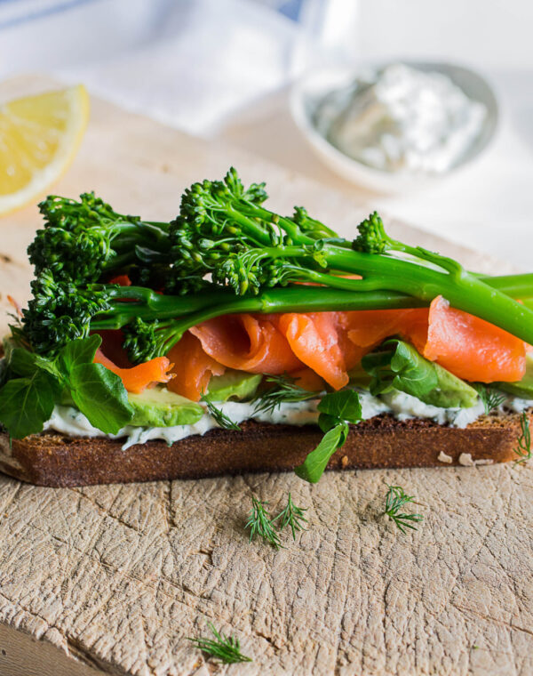 Bimi® Broccoli Scandi Smørrebrød (open sandwich)