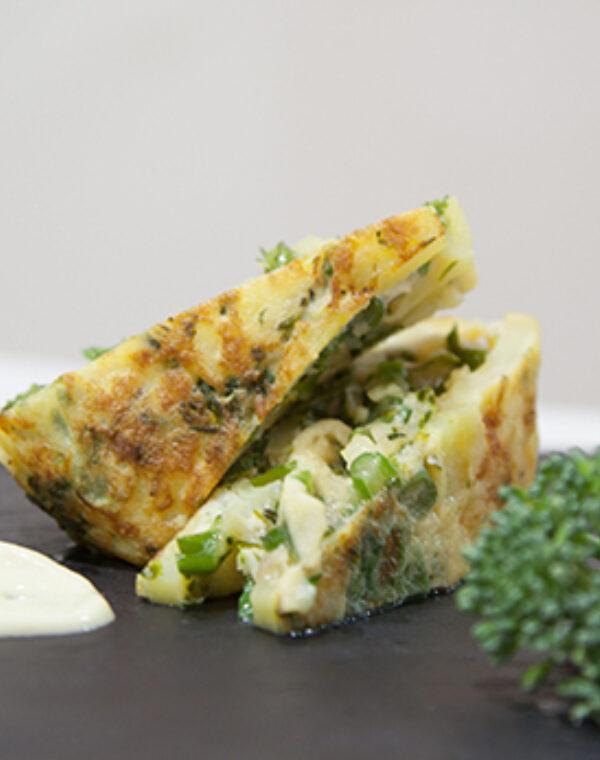 Tortilla de Bimi® brócoli