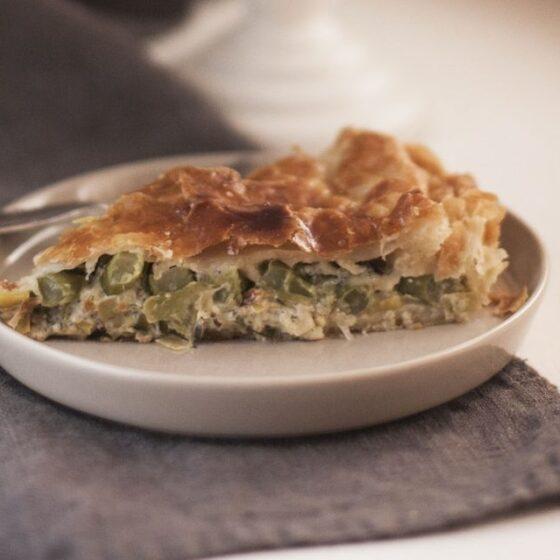 Tarta de Bimi® brócoli y gorgonzola