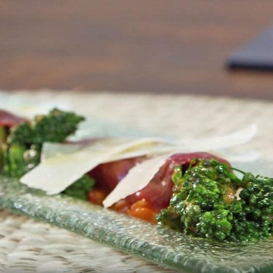Carpaccio de Bimi® brócoli