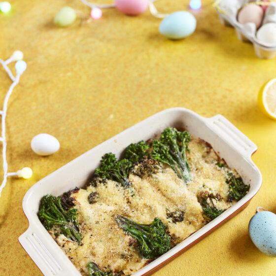 Brócolos Bimi® gratinados