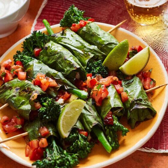 Mexicaanse bites met Bimi® broccoli en chipotle-salsa