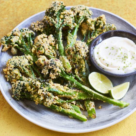 Krispig Bimi® broccoli med sesamchili panering