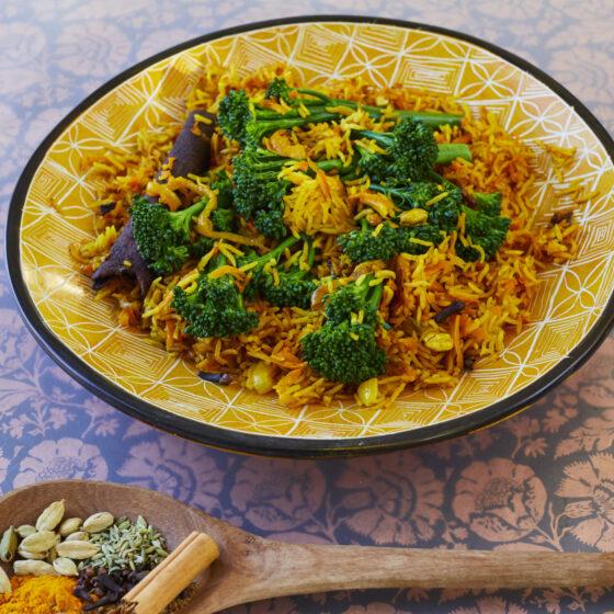 Swahili Bimi® broccoli met rijst en masala kruiden