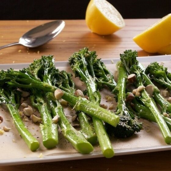 Pannestekt Bimi® brokkoli med sitronsmør