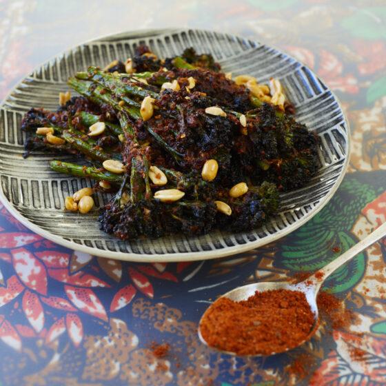 Suya-gewürzter Bimi® Brokkoli