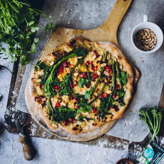 Thai Bimi®-pizza