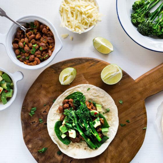 Bimi® Brokkoli Frühstücks-Burritos