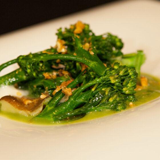 Bimi® brócoli con Pak Choi y setas