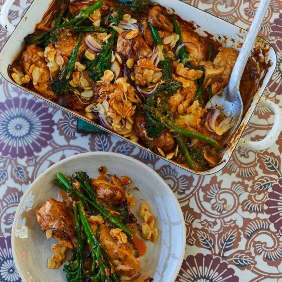 Durban Curry Masala Huhn mit Bimi® Brokkoli