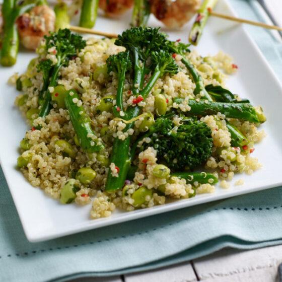 Ensalada de Quinoa con Bimi® brócoli