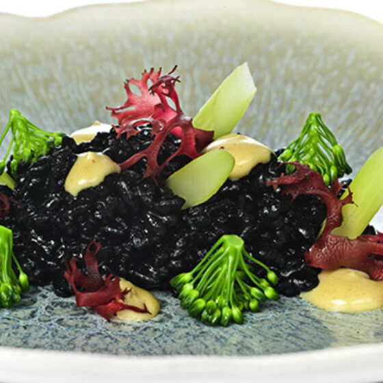 Arroz, sésamo, algas y Bimi® brócoli