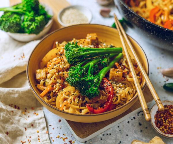 Tenderstem® Broccoli Teriyaki Noodles