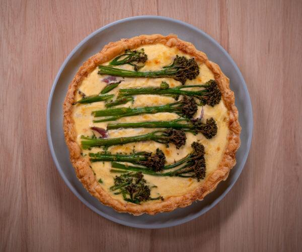 Quiche al Prosciutto by Chef Tarek