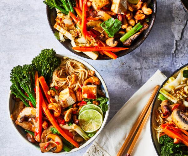 Easy Vegan Chinese Tofu Stir Fry with Tenderstem® broccoli