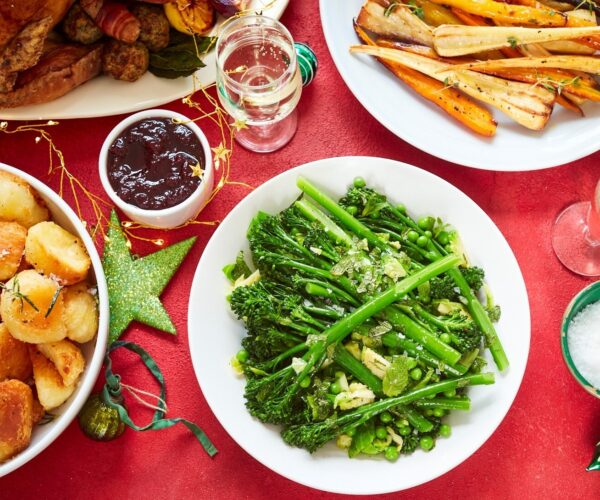One pot Tenderstem® Christmas greens