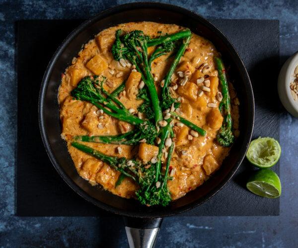 Tenderstem® broccoli & Butternut Squash Satay Curry