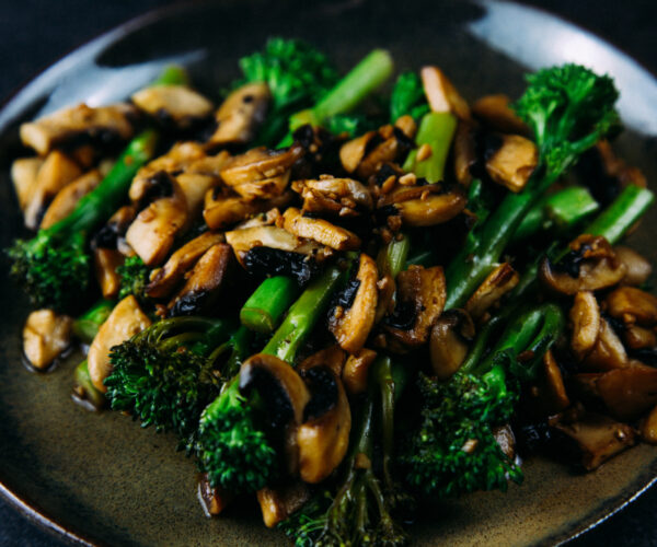Sautéed Balsamic Tenderstem® broccoli & Mushrooms