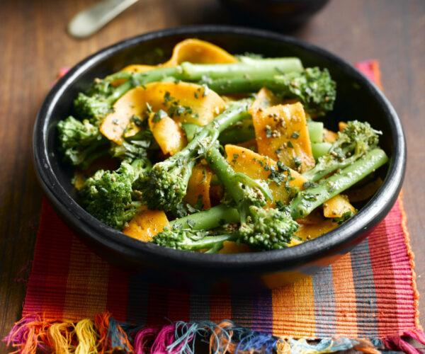 Indian-Spiced Warm Tenderstem® Broccoli & Carrot Salad