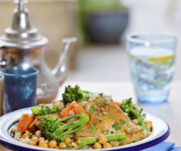 Moroccan Chicken & Tenderstem® broccoli Tagine