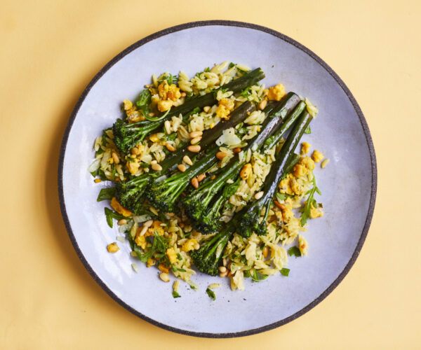 Orzotto with Tenderstem Royale®