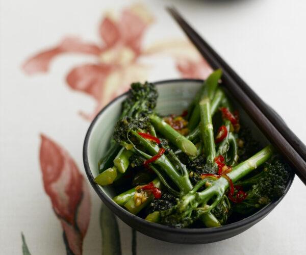 Stir-Fried Chilli & Garlic Tenderstem® broccoli with Oriental Seasoning