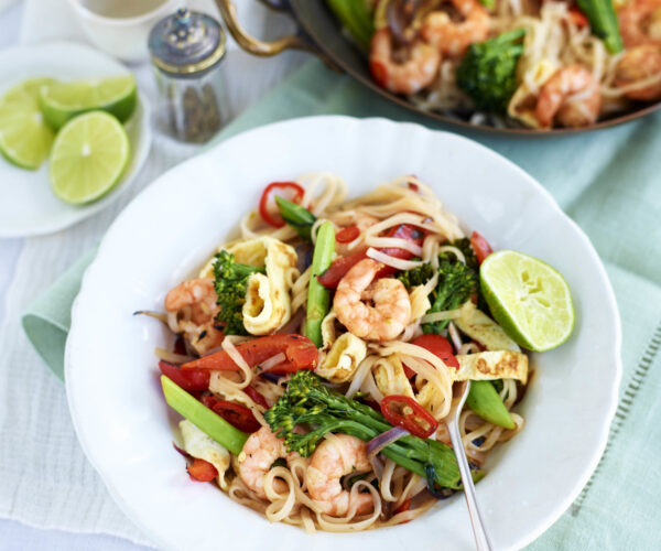 Thai Style Prawns & Tenderstem® broccoli Noodles