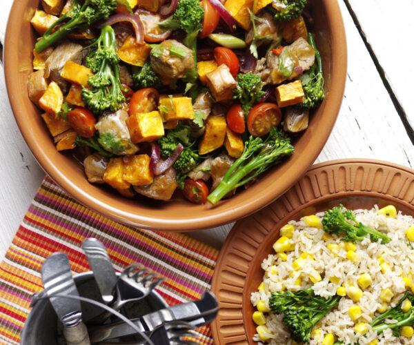Tenderstem® broccoli & Beef Lomo Saltado
