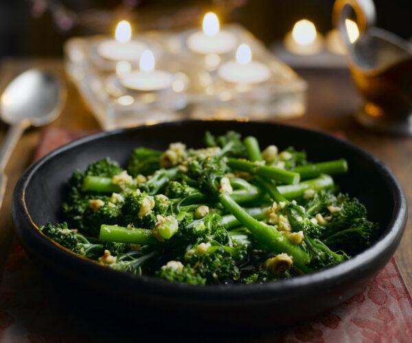 Tenderstem® broccoli with Hazelnut & Orange Butter
