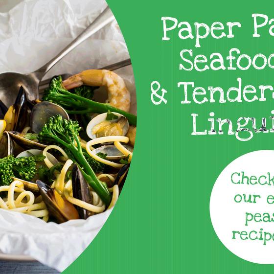 Paper Parcel Seafood Tenderstem® broccoli Linguine