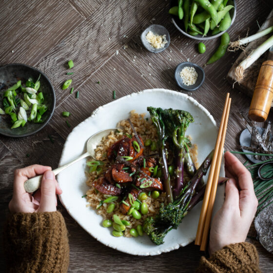 Tenderstem Royale® and Chicken Teriyaki Rice Bowl