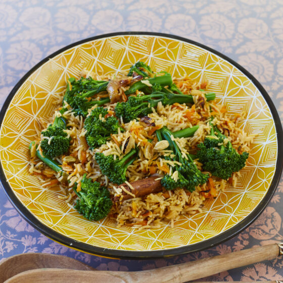 Swahili Tenderstem® broccoli Rice Pilaf