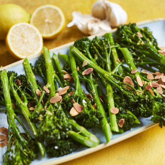 Sauteed Tenderstem® broccoli with Lemon Butter